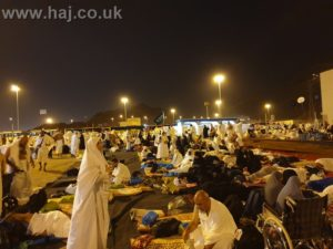 Hajj 2019 Mozdalifah Night