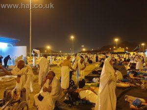 Hajj 2019 Night Mozdalifah