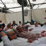 Hajj 2019 Mina tent on Eid day