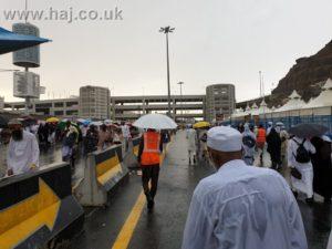 Hajj 2019 rain