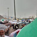 Hajj 2019 raining