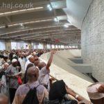 Hajj 2019 stoning the Jamaraat