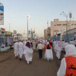 Hajj 2019 walk to jamaraat