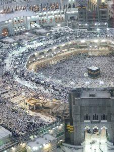 Hajj 2019 side Kaaba view